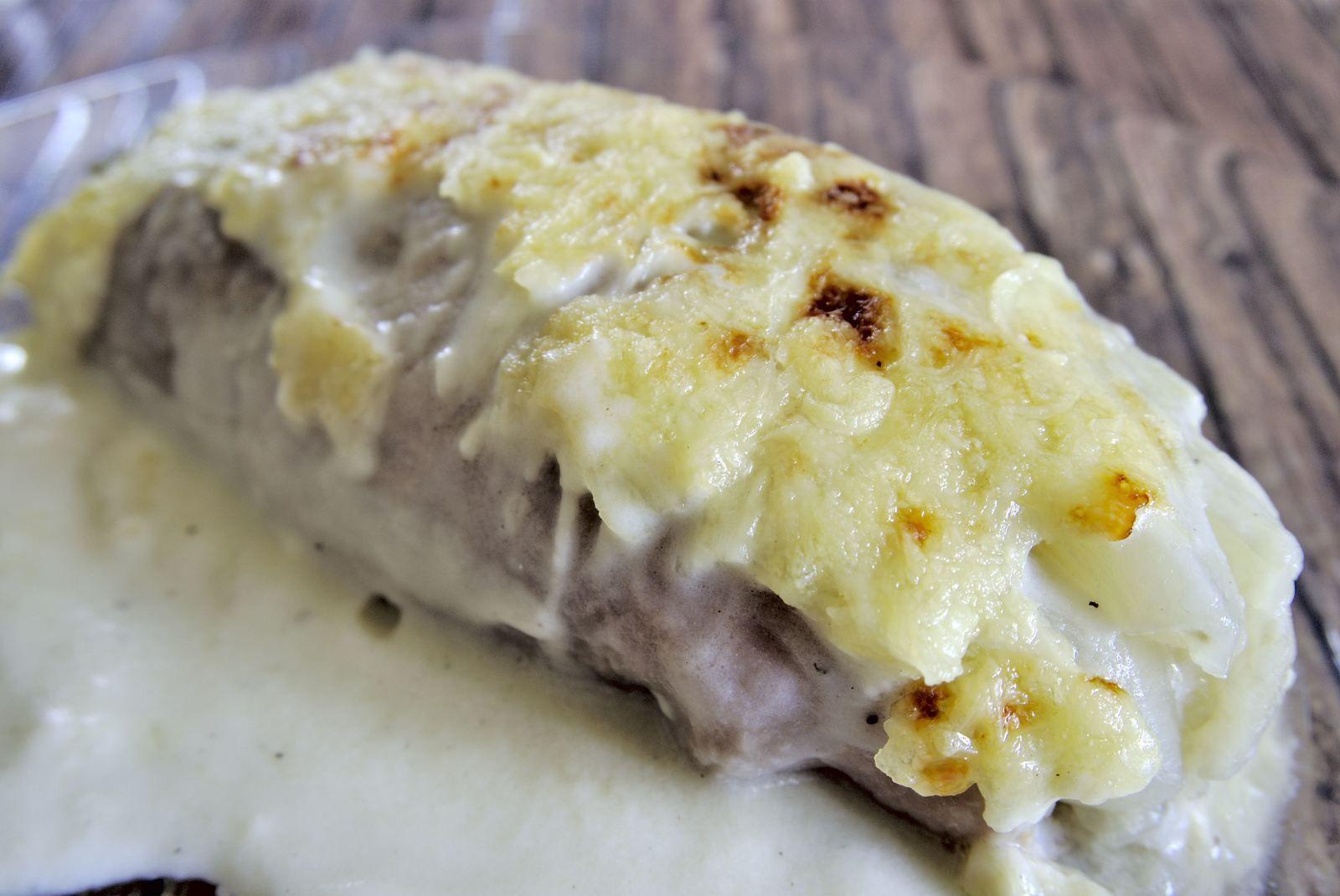 Endives au jambon et au Roquefort