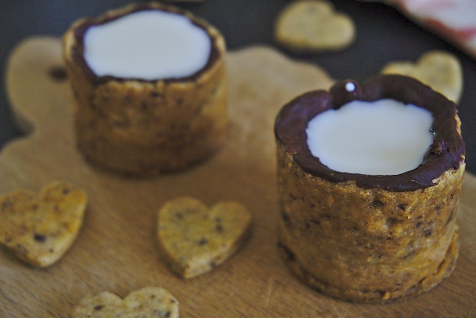 Tasses cookies