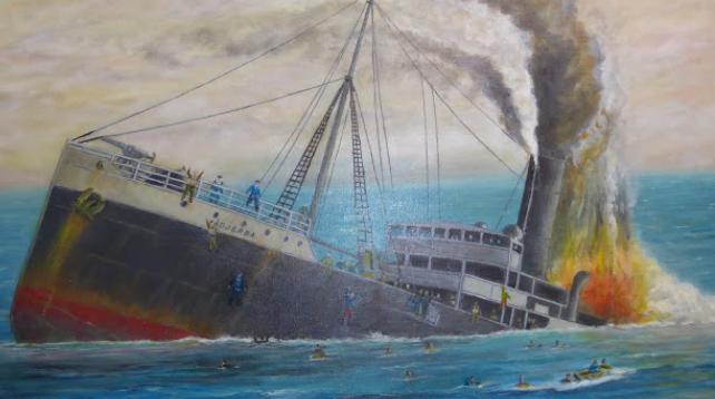 Tableau Bernard BERNADAC - Historien et peintre de marine.