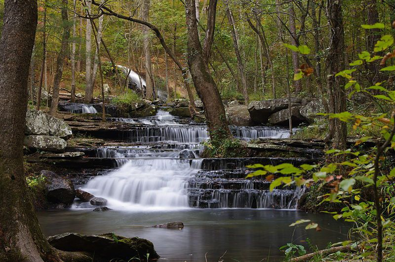 (Collins Creek, Arkansas, photo de Eglavin, 07/10/2010, www.flickr.com, wikipédia)