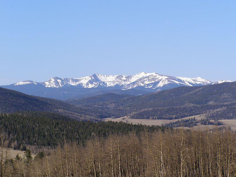 (Wheeler Peak, Nouveau-Mexique, photo de David Herrera from Albuquerque, NM, 20/04/2006, www.flick.com)