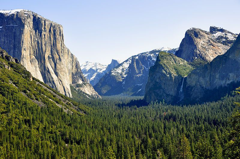 (Yosemite National Park, Californie, photo de chensiyuan, 2010, wikipedia)