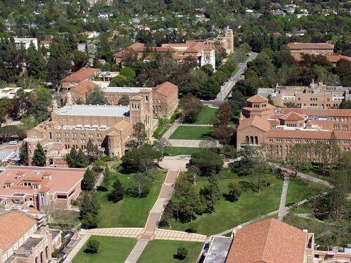 (Campus de l'University of California à Los Angeles, photo www.bestvalueschools.com)