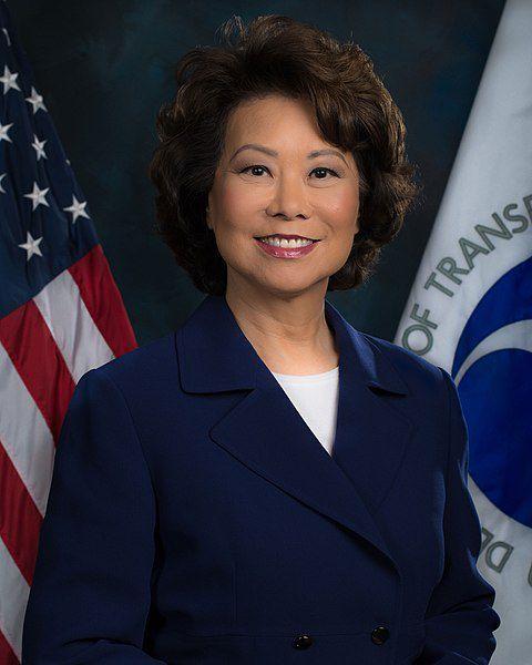 (Elaine Chao, www.transportation.gov, 07/08/2017, wikipedia)