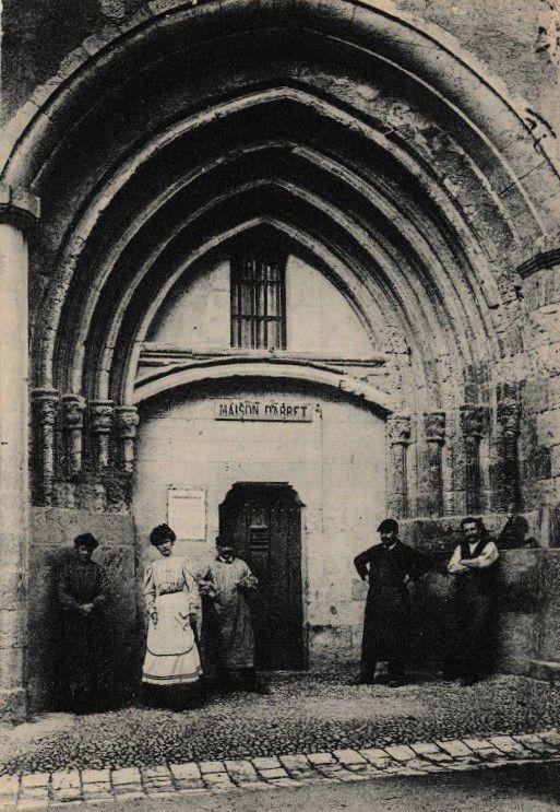 Lectoure Lectourois carte postale rue nationale couvent Cordeliers Prison maison d'arrêt