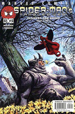 Des Fleurs pour Algernon a été adaptée à la sauce Marvel, avec le Rhino, par Peter... Milligan