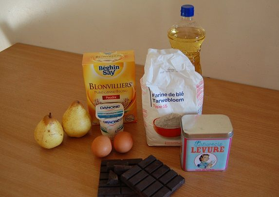 blog-maman-picou-bulle-recette-muffins-choco-poires-ingredients