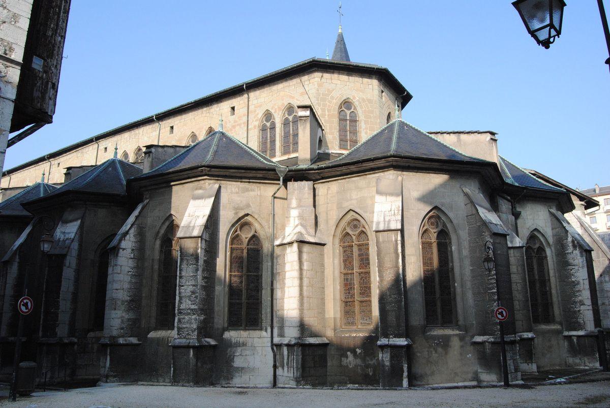 Abside de l'église des franciscains conventuels (photo E. Coux)