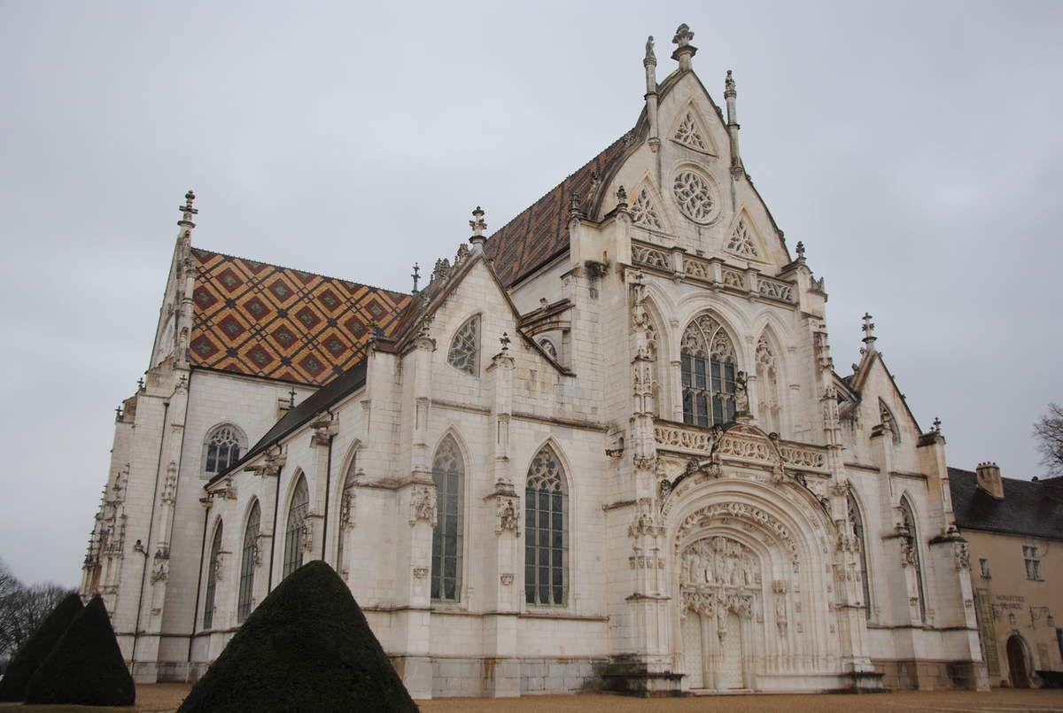 Abbaye de Brou à Bourg-en-Bresse construite par Marguerite d'Autriche (photo E. Coux)