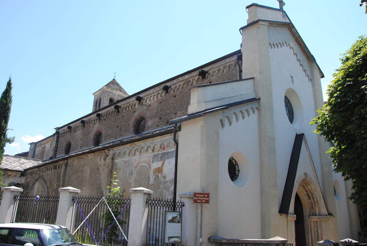 le couvent franciscain de Suse, siège de l'inquisition