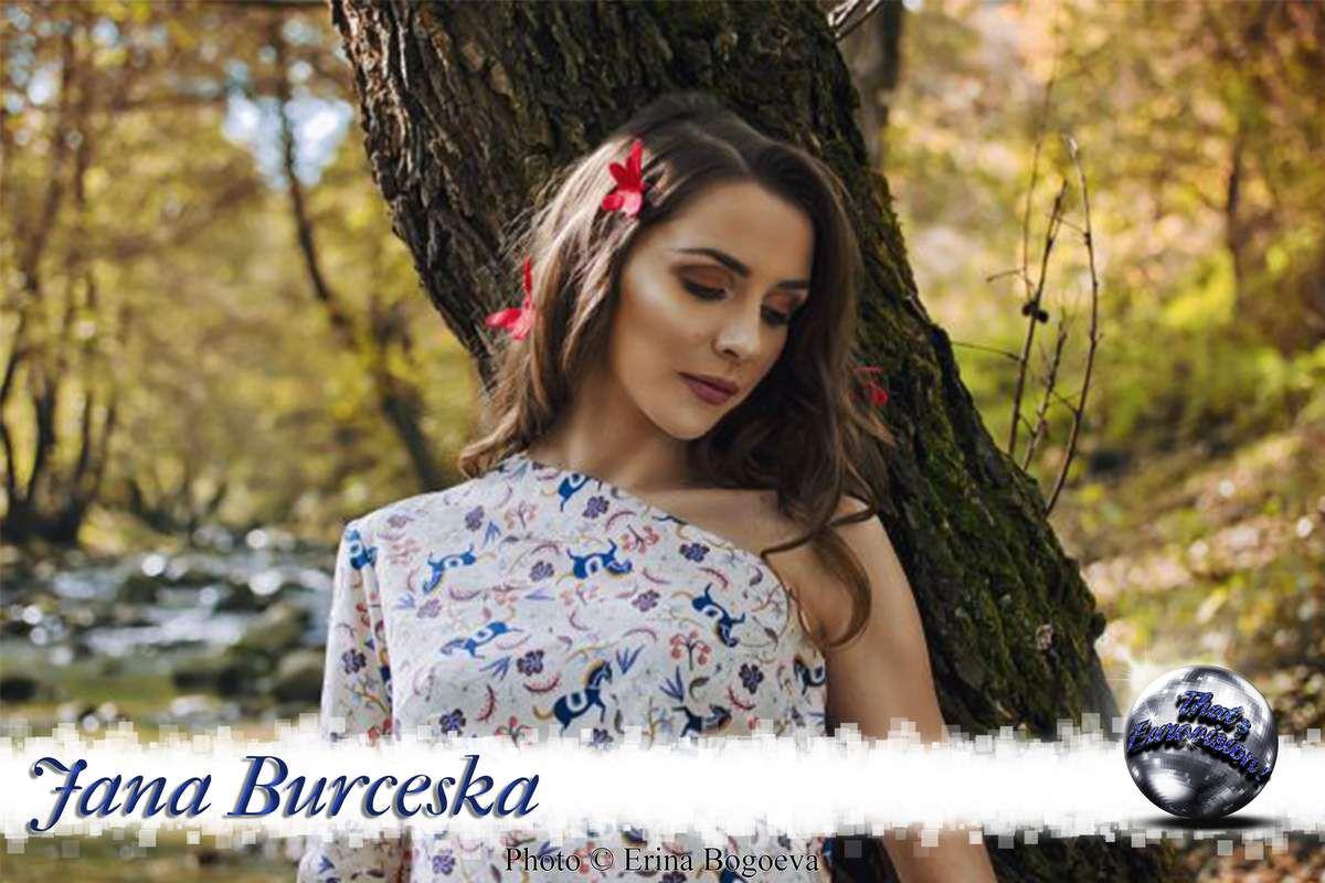 Fyro Macedonia - Jana Burčeska (Dance Alone)