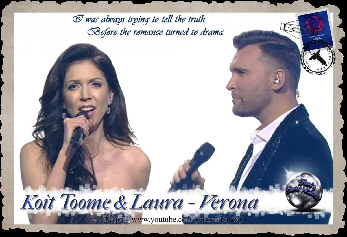 Estonia - Koit Toome and Laura (Verona) Lyrics