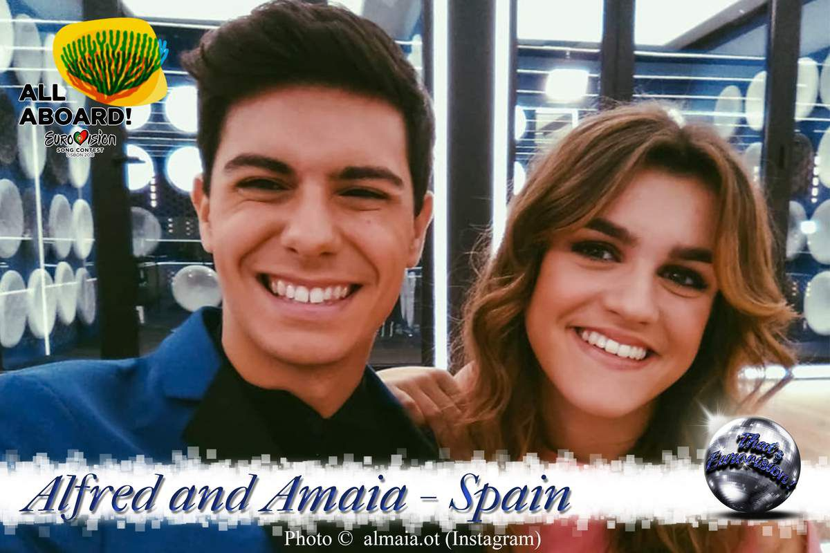 Spain 2018 - Alfred and Amaia