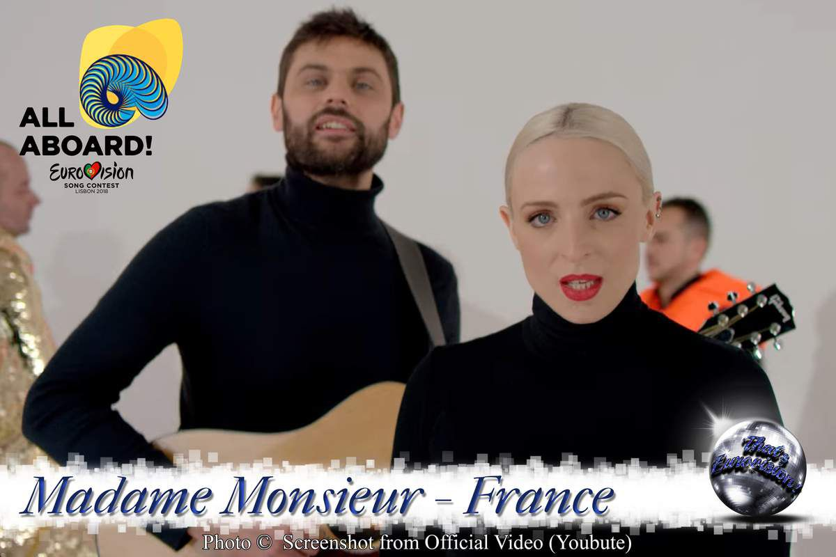 France 2018 - Madame Monsieur - Mercy (Official Video)