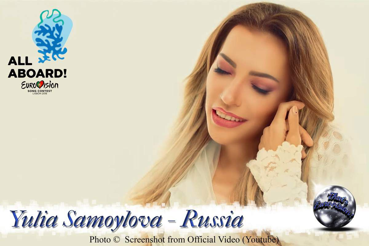 Russia 2018 - Julia Samoylova - I Won't Break