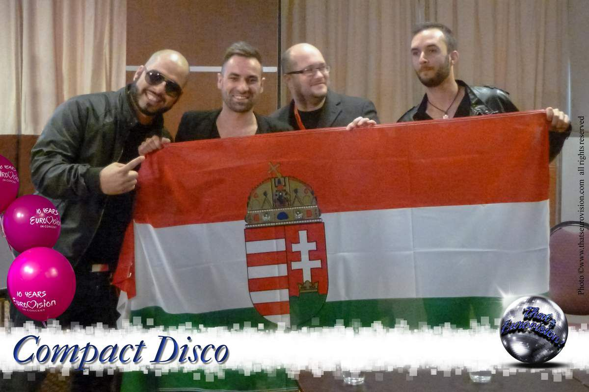 Hungary - Compact Disco (Sound of Our Hearts) 2012