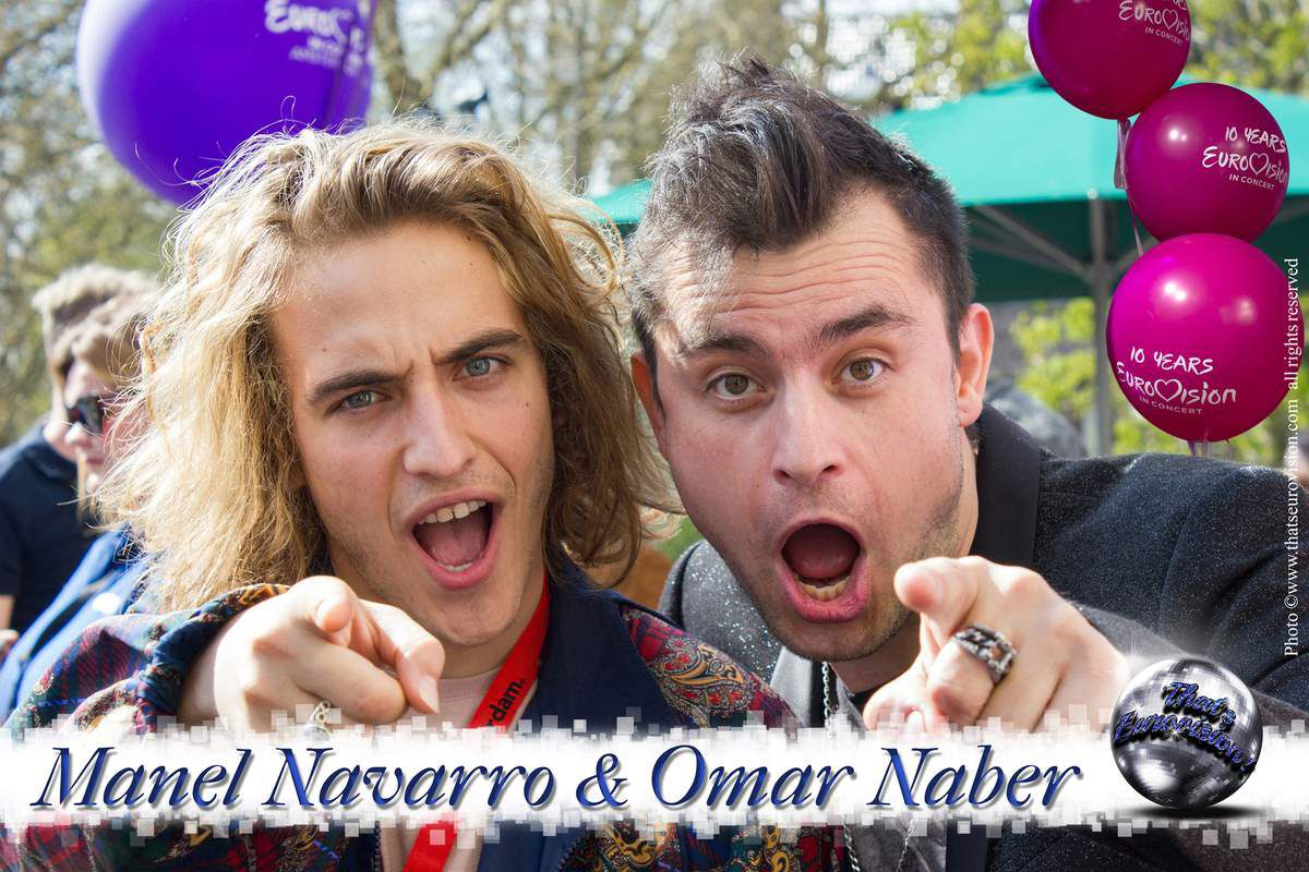 Spain - Manel Navarro (Do It For Your Lover) & Slovenia - Omar Naber (On My Way) 2017