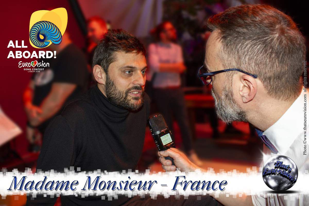 France 2018 - Madame Monsieur - Eurovision, Everybody join for it!