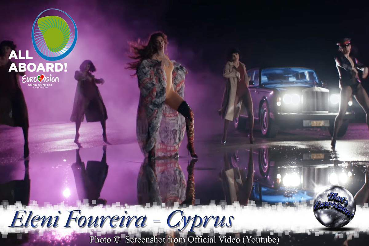 Cyprus 2018 - Eleni Foureira - Fuego (Official Video and Lyrics)