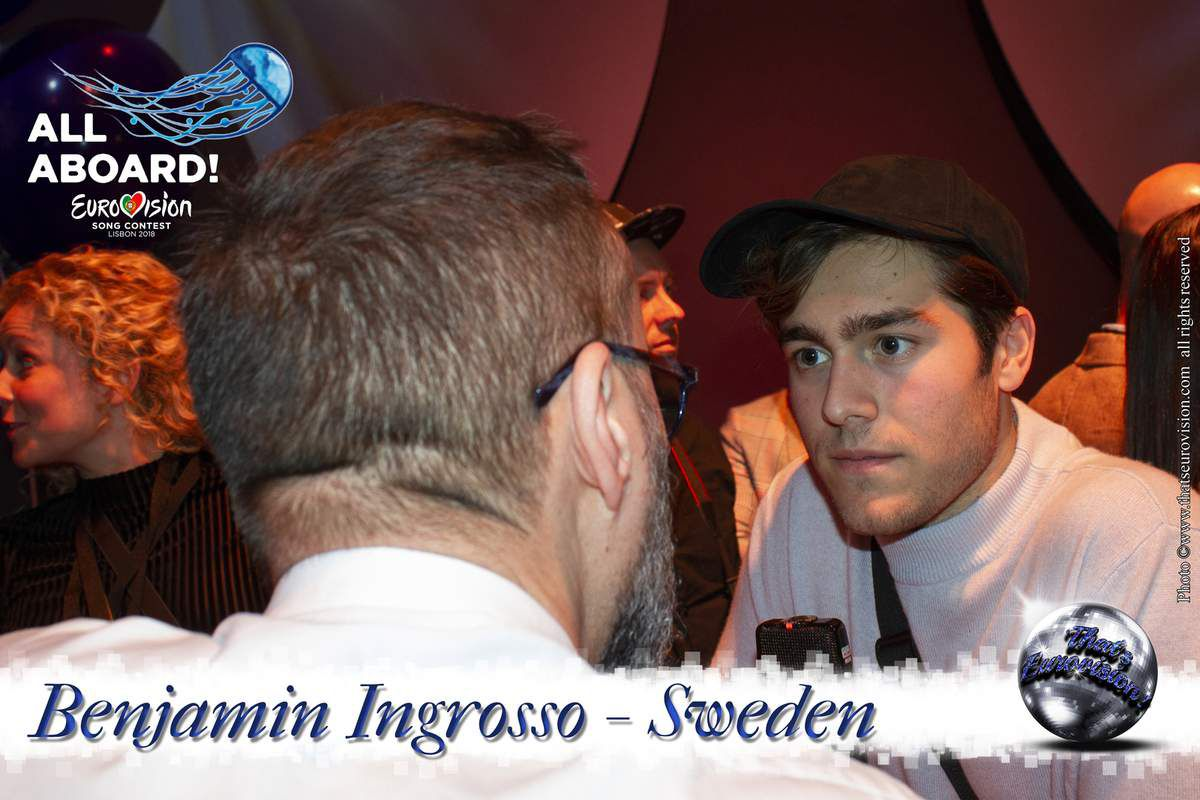 Sweden 2018 - Benjamin Ingrosso - I just wanna give everybody a show!