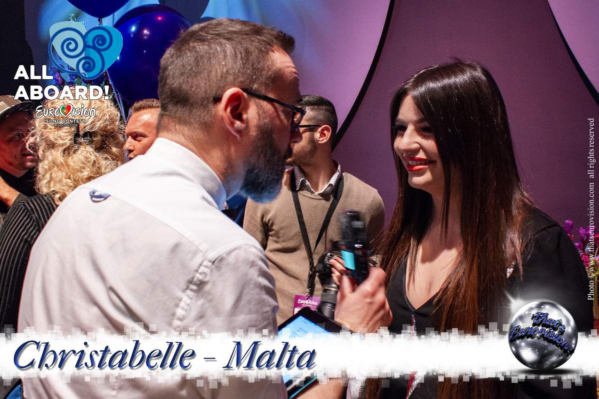 Malta 2018 - Christabelle - I hope that with the song I get the message across