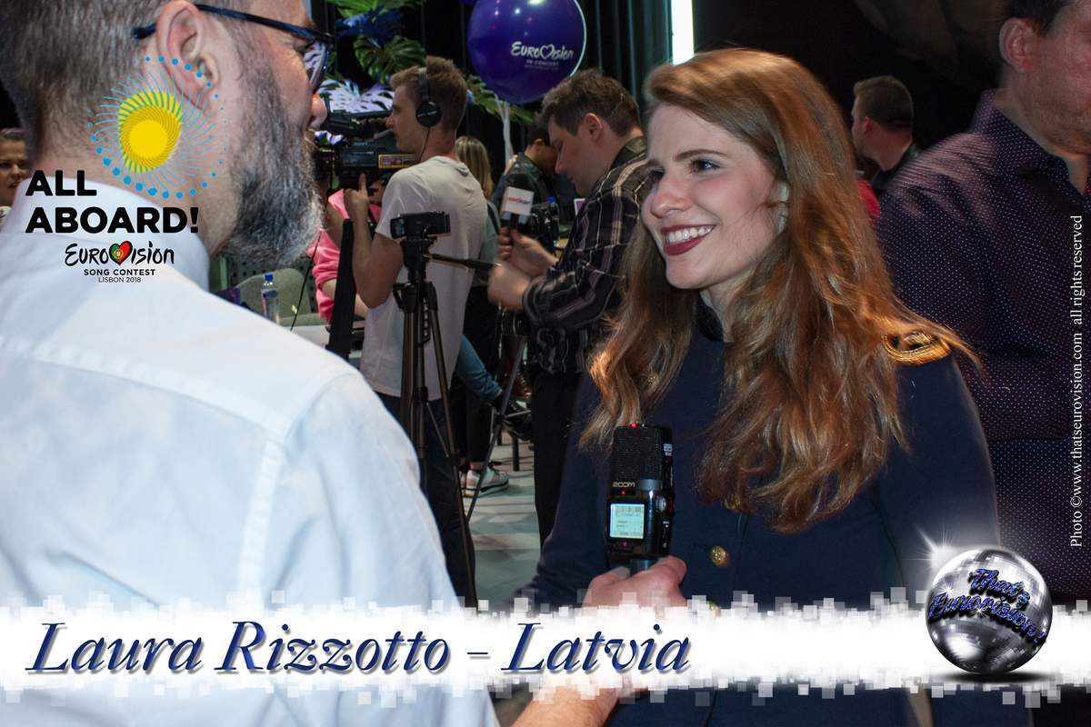 Latvia 2018 - Laura Rizzotto - Let's take our chances!