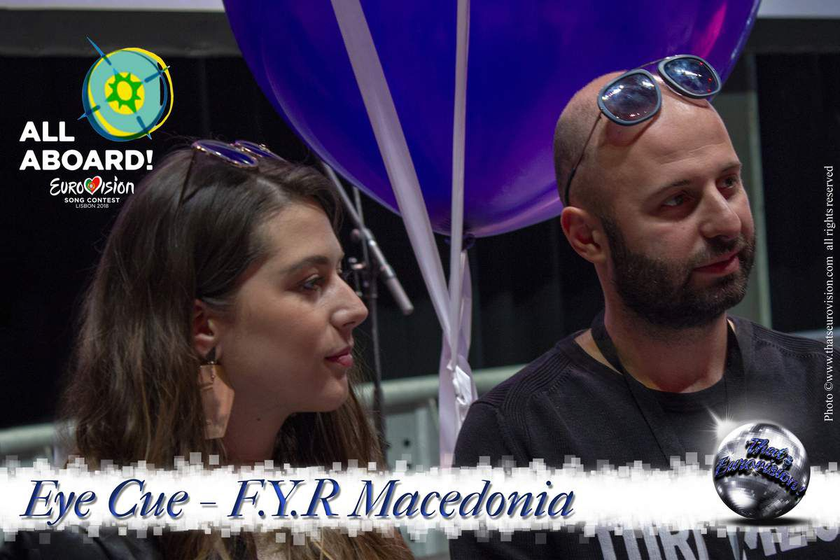 F.Y.R. Macedonia - EYE CUE - Eurovision has to do with every kind of styles!