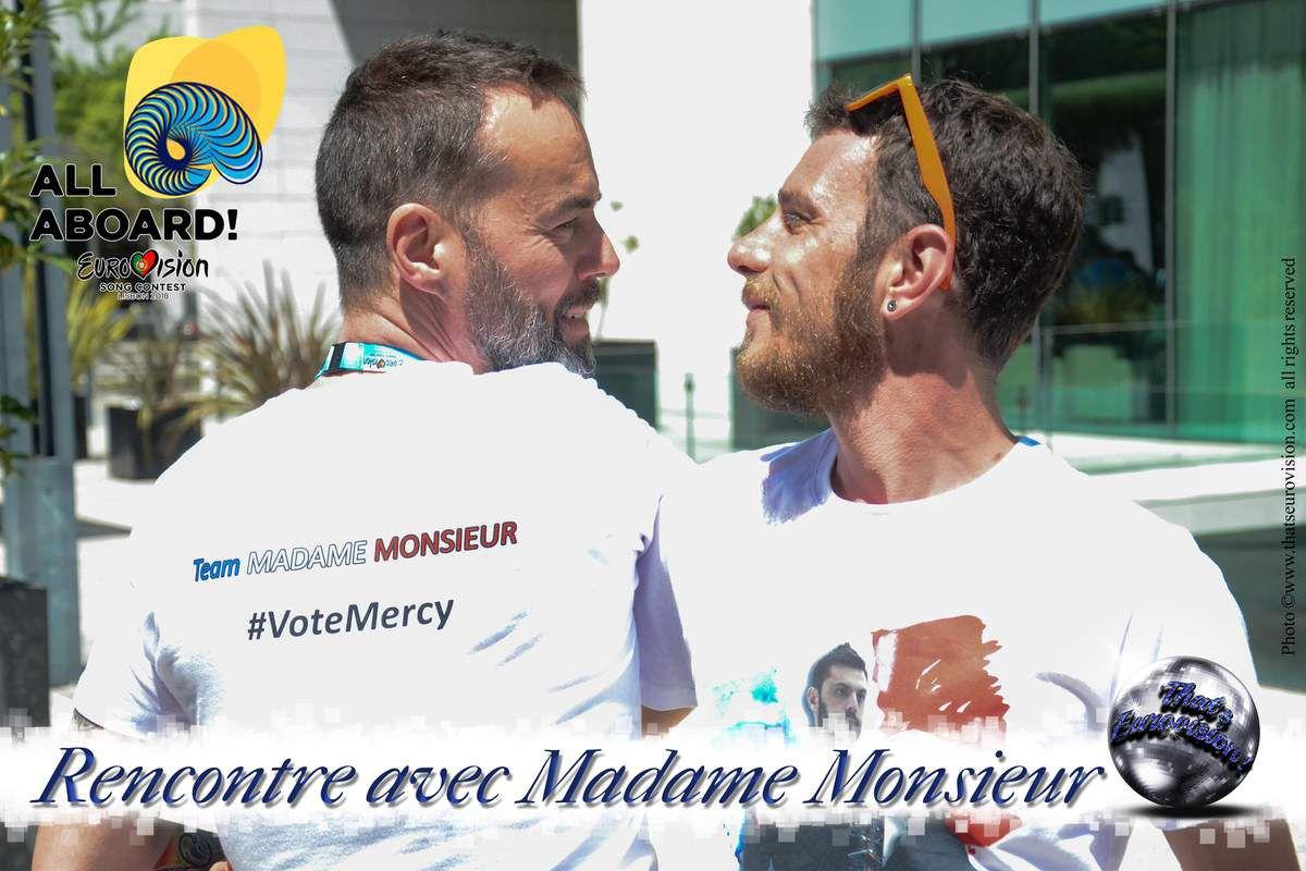 France - Rencontre avec Madame Monsieur