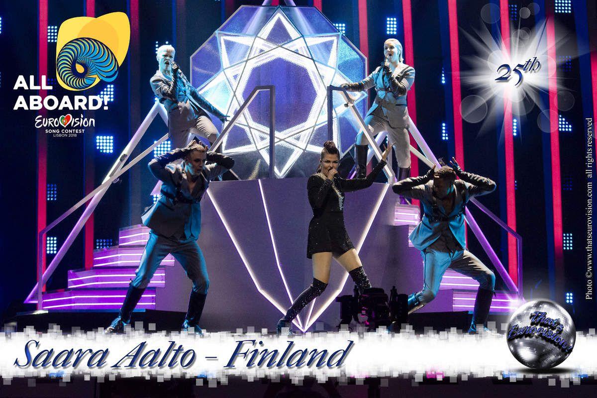 Finland - Saara Aalto - 25th All Aboard!