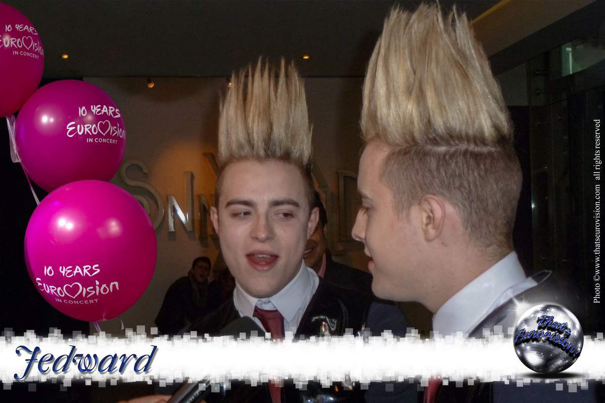 Ireland - Jedward (Waterline) 2012