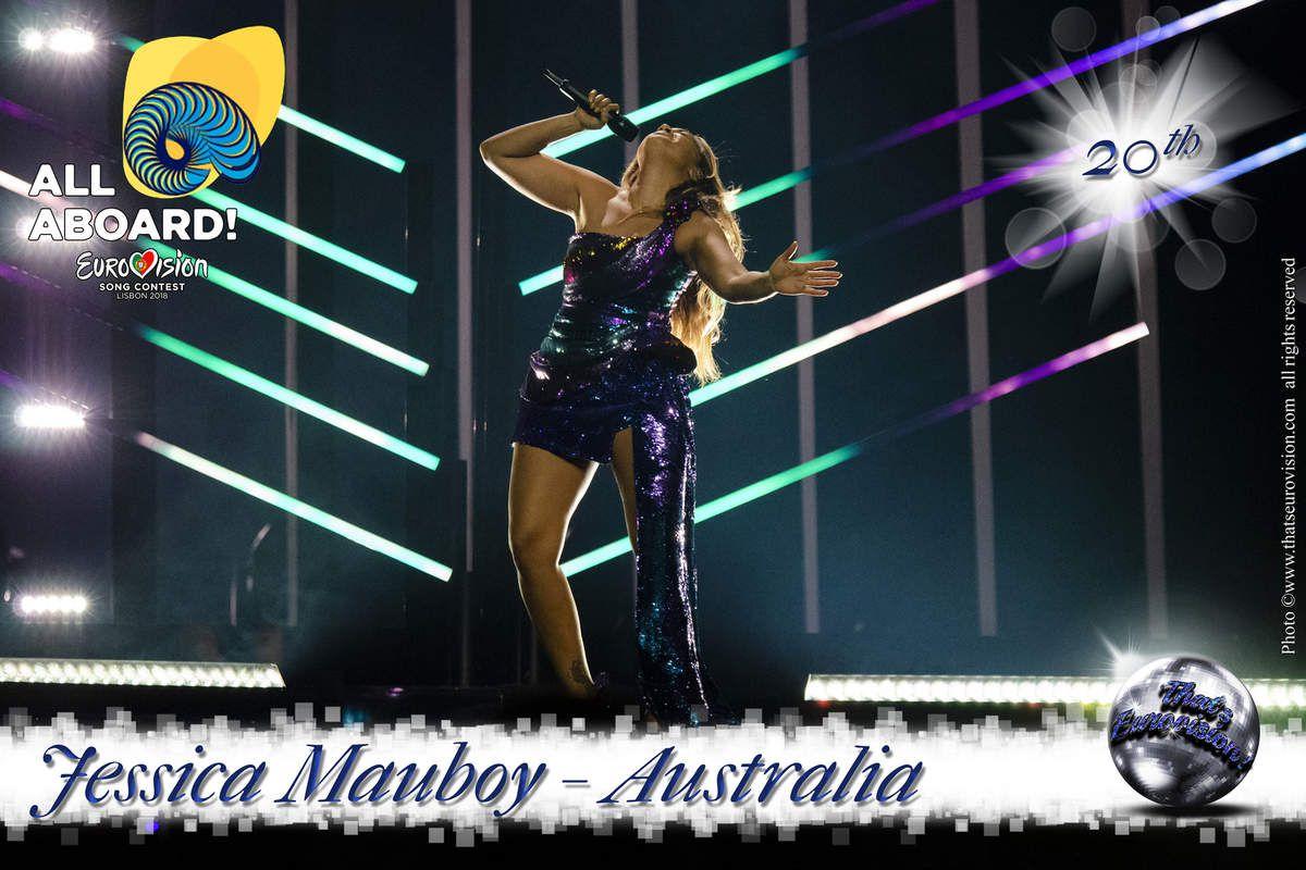 Australia - Jessica Mauboy - 20th All Aboard !