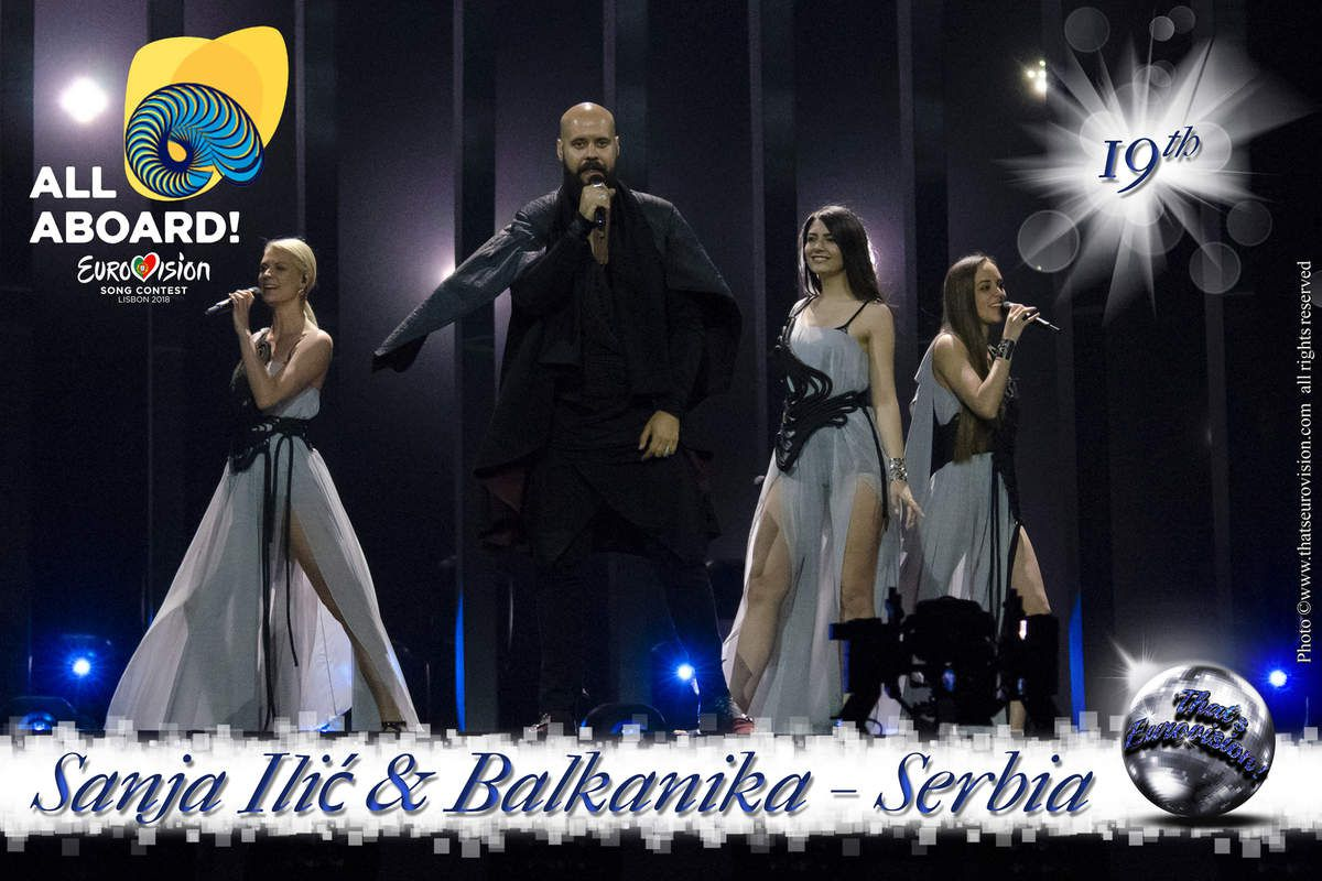 Serbia - Sanja Ilić and Balkanika - 19th All Aboard !