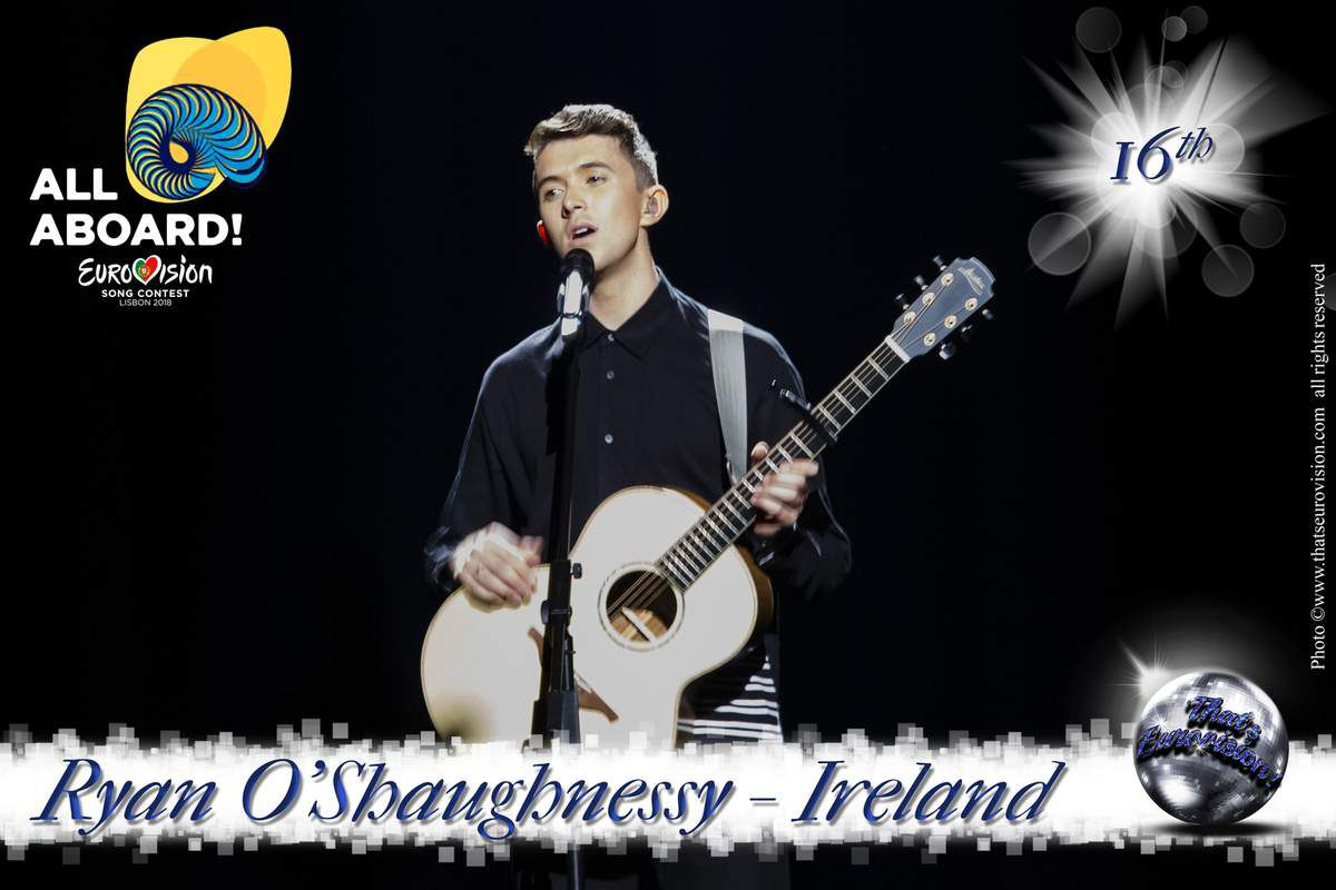 Ireland - Ryan O'Shaugnessy - 16th All Aboard!