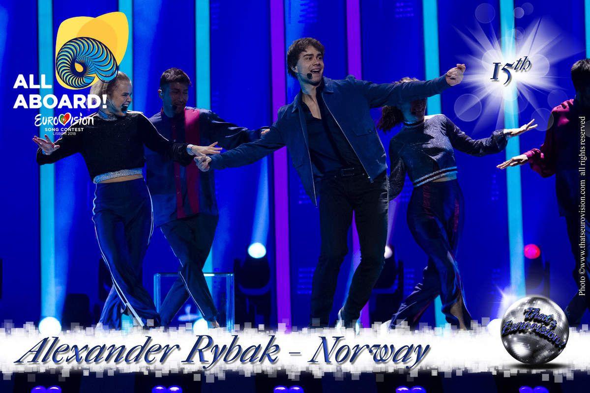Norway - Alexander Rybak - 15th All Aboard!