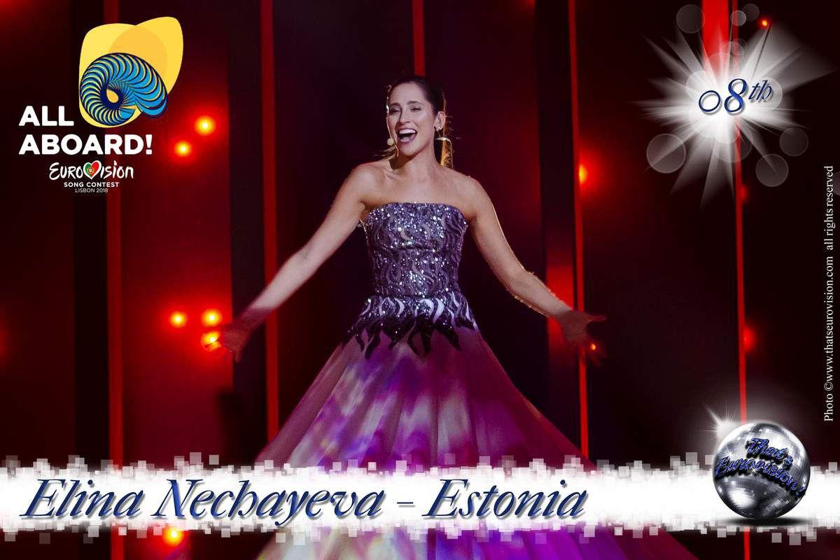 Estonia - Elina Nechayeva - 8th All Aboard!