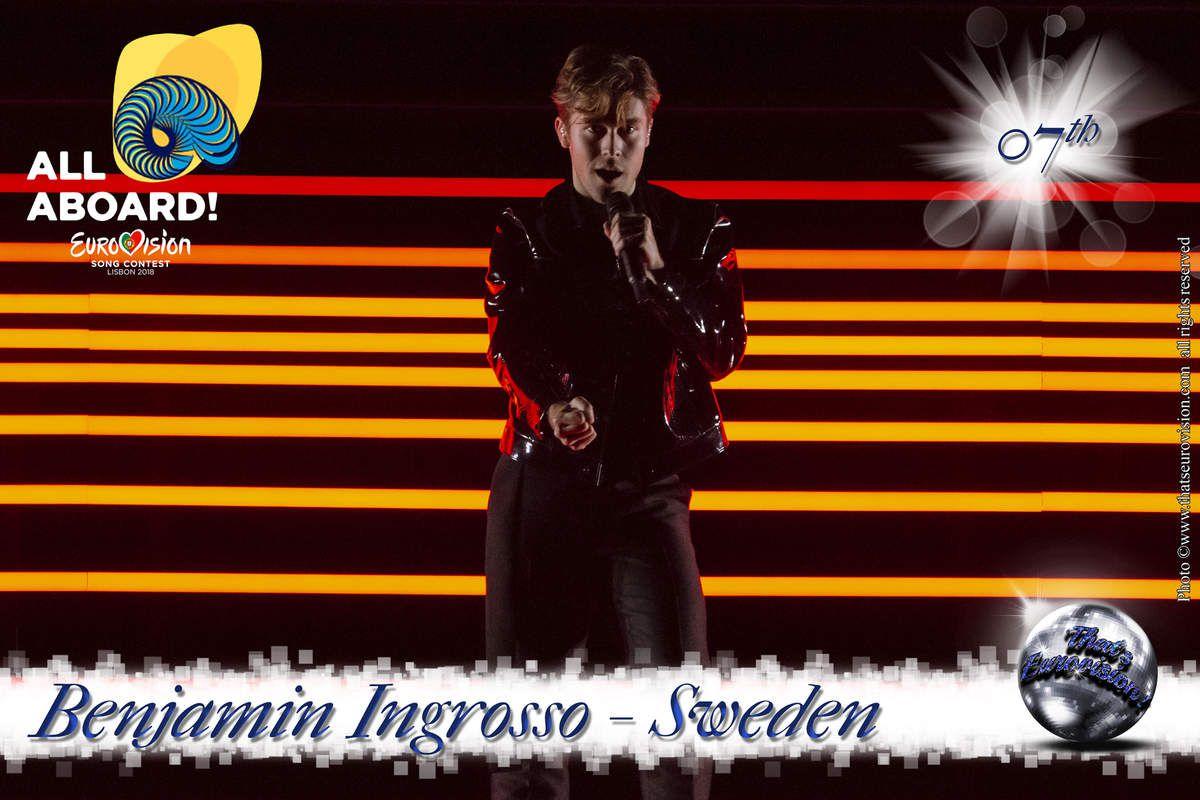 Sweden - Benjamin Ingrosso - 7th All Aboard!