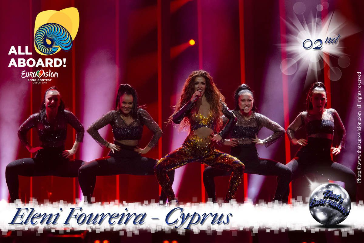 Cyprus - Eleni Foureira - 2nd All Aboard!