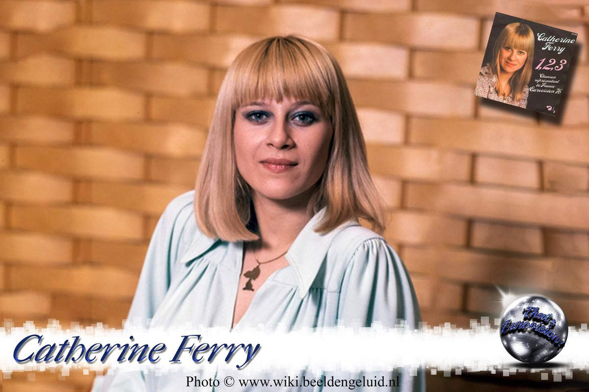 Catherine Ferry - 1, 2, 3 (France 1976)