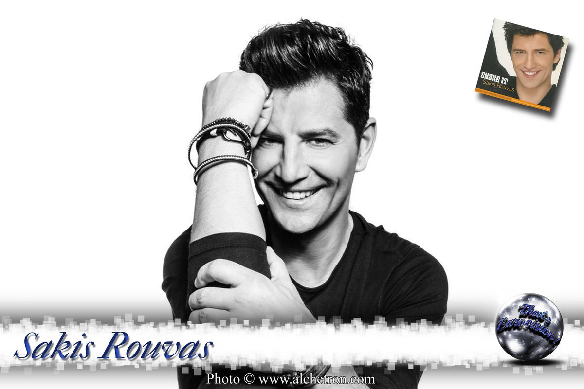 Sakis Rouvas - Shake it (Greece 2004)