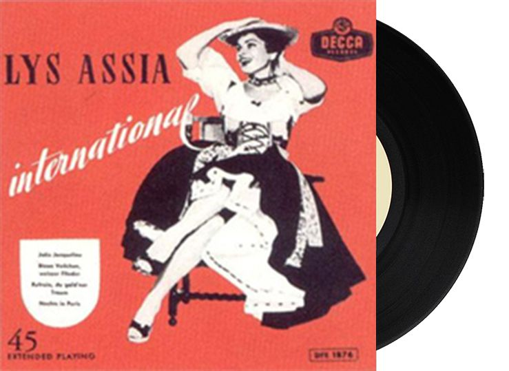 "1st - Switzerland - Lys Assia ""Refrain"""