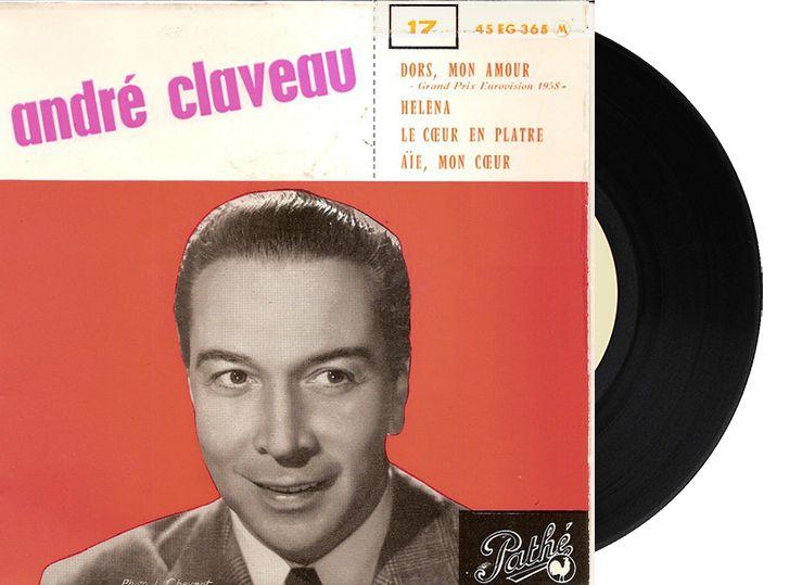 """1st - France - André Claveau """"Dors Mon Amour"""" (27 points)"""