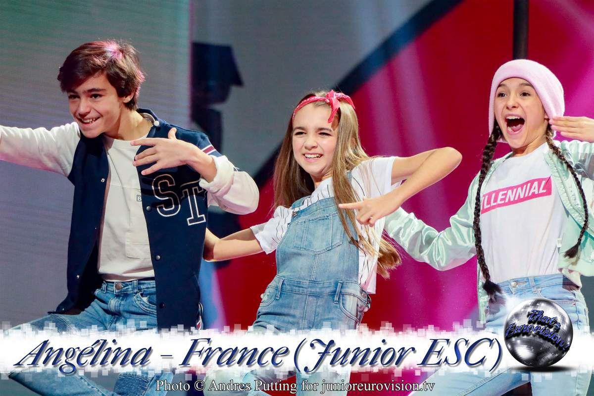 France - Junior ESC 2018 - Angélina - Une Belle Opportunité de Représenter la France !