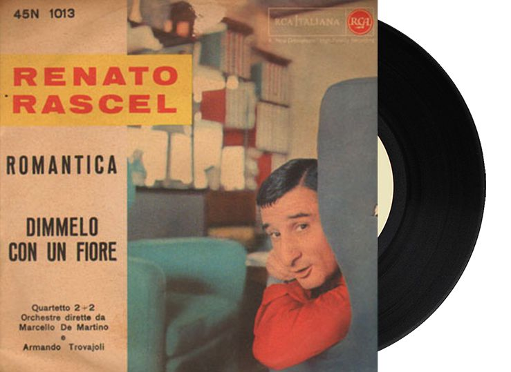 """8th - Italy - Renato Rascel """"Romantica"""" (5 points)"""