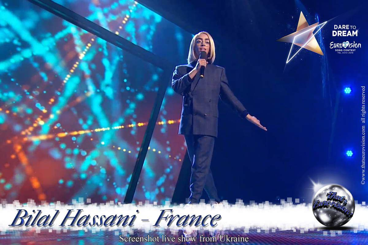France 2019 - Bilal Hassani en Ukraine - Roi débute sa promotion internationale !
