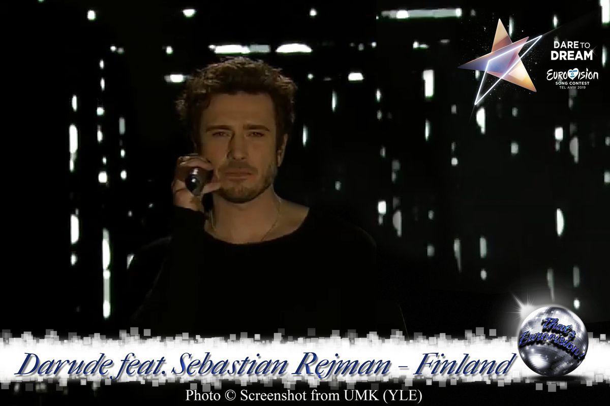Finland 2019 - Darude feat. Sebastian Rejman (Look Away )
