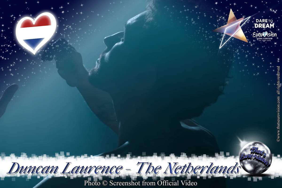 The Netherlands 2019 - Duncan Laurence - Arcade (Lyrics)