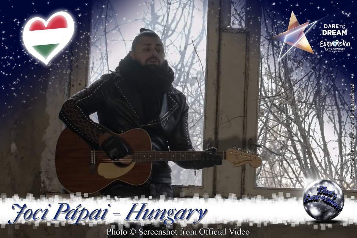 Hungary 2019 - Joci Pápai - Az én apám (Lyrics)