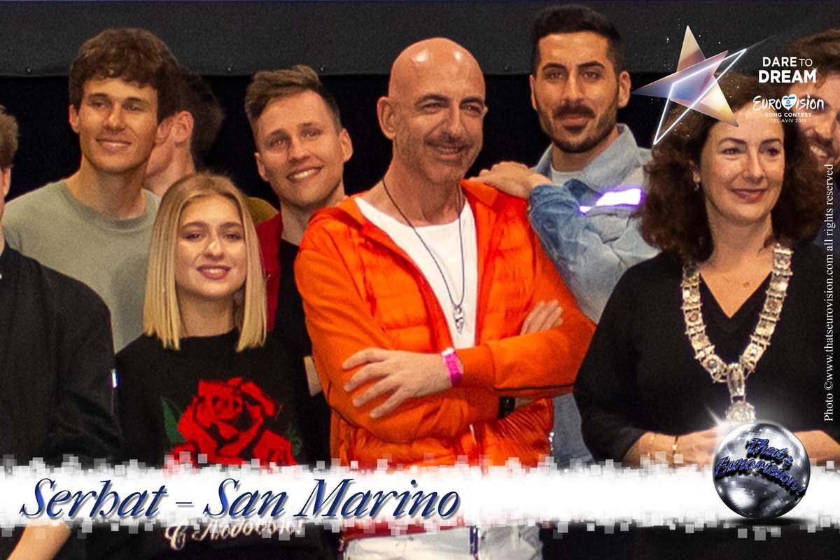 "San Marino 2019 - Serhat - life is really beautiful and fine. If you have some troubles in your mind, ""Just say, na na na!"""