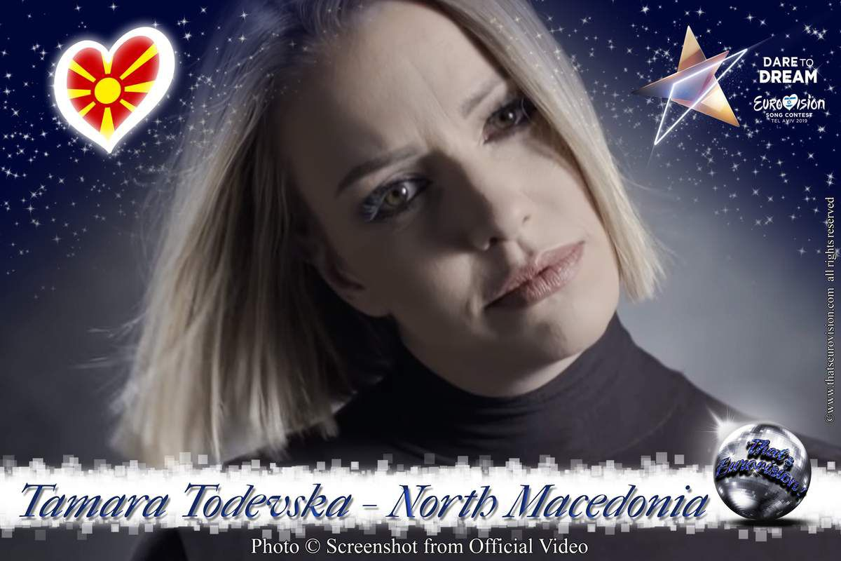 North Macedonia - Tamara Todevski - Proud (Lyrics)
