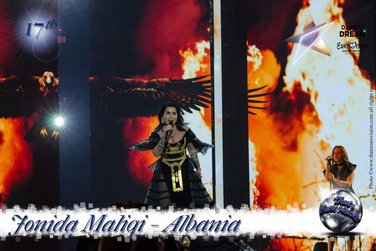 Albania 2019 - Jonida Maliqi - 17th